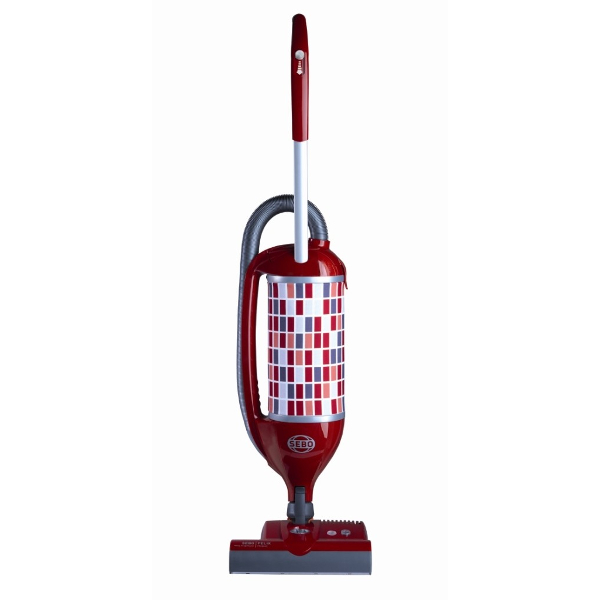 Sebo 90813GB Felix Rosso ePower Upright Vacuum Cleaner with Free 5 Year Guarantee
