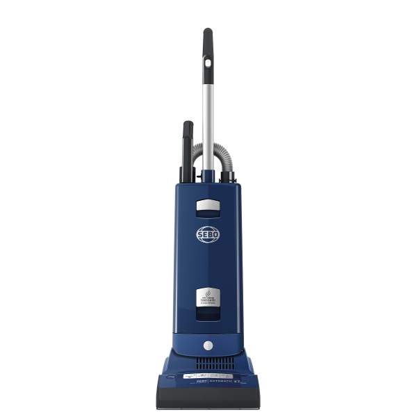 Sebo 91506GB Automatic X7 Extra ePower Vacuum Cleaner in Navy Blue with Free 5 Year Guarantee