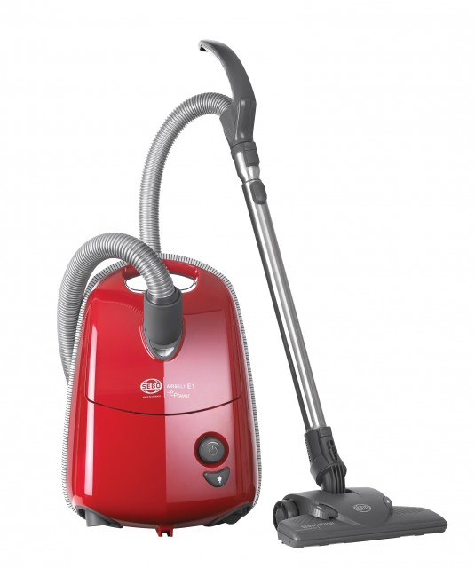 Sebo 92623GB Airbelt E1 ePower Cylinder Vacuum Cleaner with Free 5 Year Guarantee