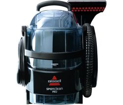 BISSELL SpotClean Pro 1558E Cylinder Carpet Cleaner - Titanium